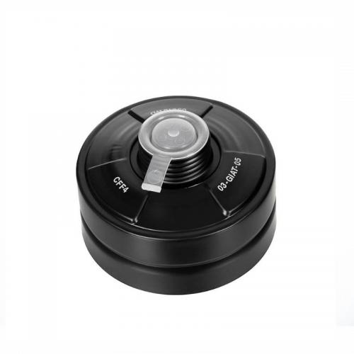 Gas Mask Filter Color Black 40 mm