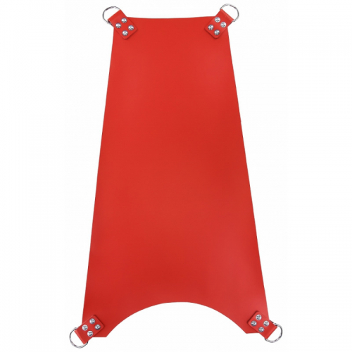 MR SLING Leather Trapeze Sling Red