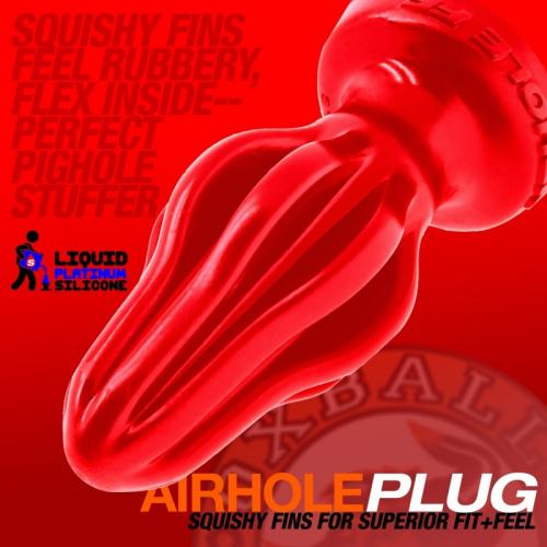 Oxballs AIRHOLE Red (4 Sizes)